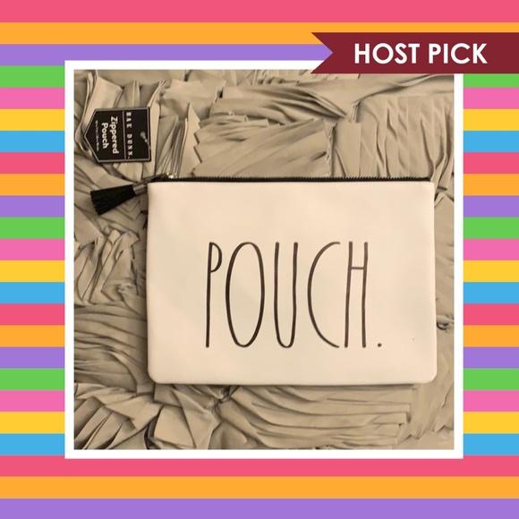 Rae Dunn Handbags - Rae Dunn POUCH Zippered Pouch - HP!